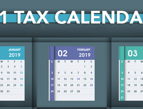 Tax Calendar Deadlines… Don't be late!