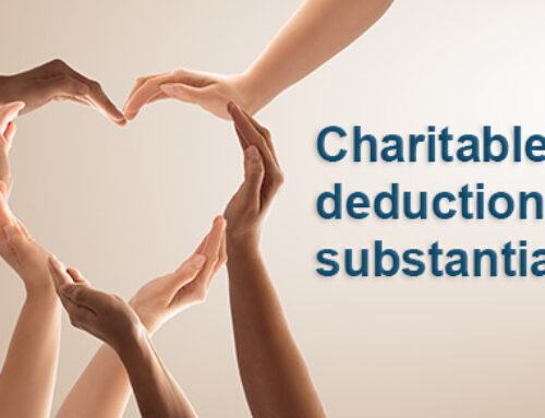 Charitable Deduction Letters… Not too late!
